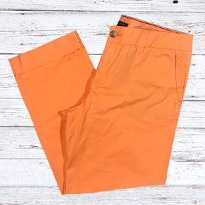 Tommy Hilfiger orange chino Avery pants Sz 10